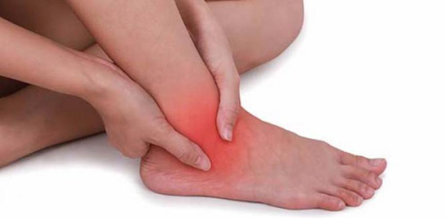 dureri de glezna la nivelul piciorului