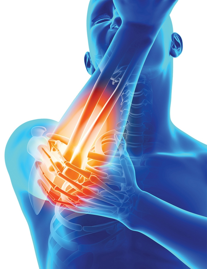 durerea în mână face clic pe articulație