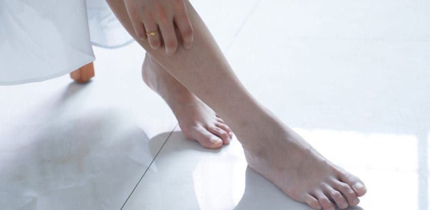 exercițiul de prevenire a piciorului în picioare