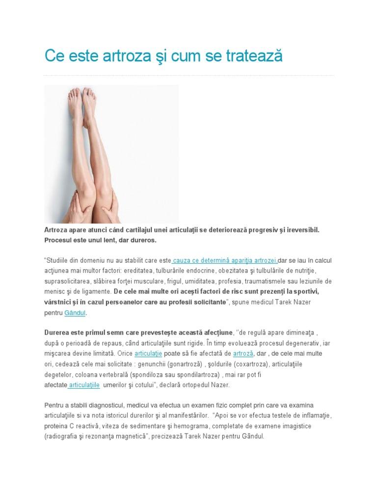 dureri dureroase articulare rezultate pozitive ale tratamentului pentru artroză