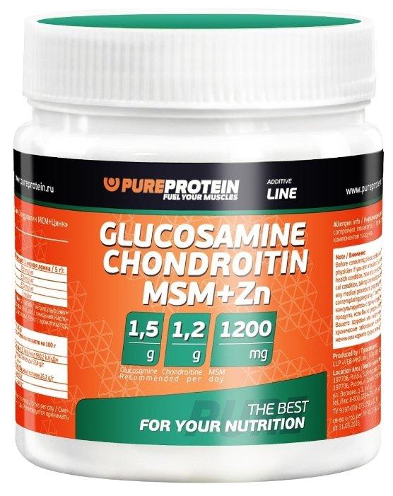 purproteină glucozamină condroitină mcm + zinc