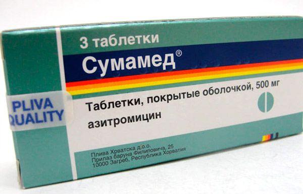sumamed și tratament comun artroza tratament dureri articulare