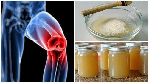 tratament cu gelatină cu artroză piciorului