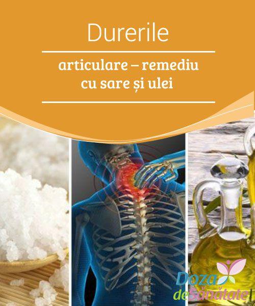 uleiuri în tratamentul durerilor articulare