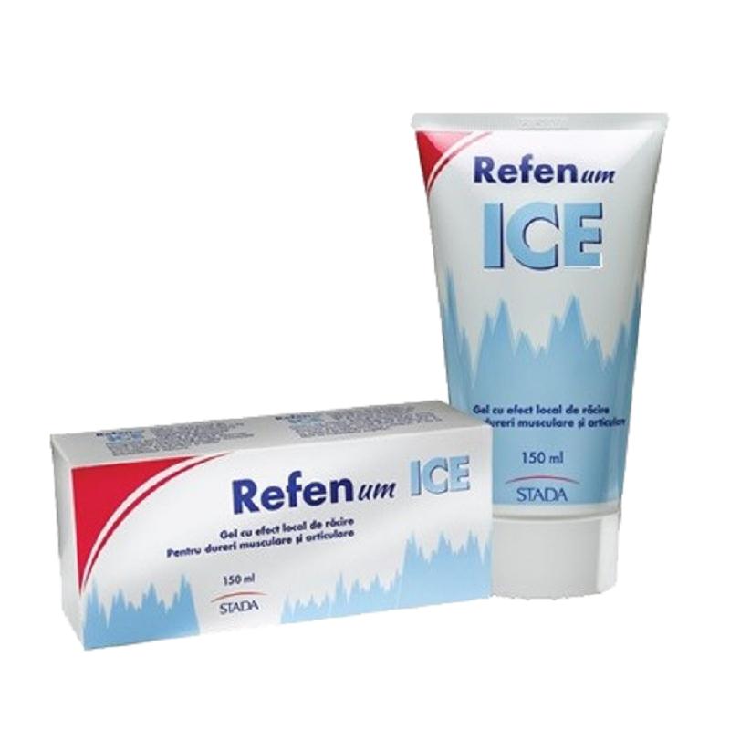 Gel cu efect de răcire Refenum Ice, ml, Stada : Farmacia Tei