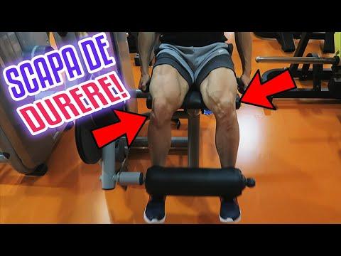 crep și durere în articulațiile genunchiului