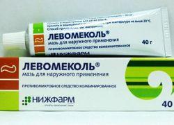 levomekol în tratamentul articulațiilor tratamentul spondilozei cu artroză