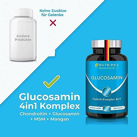 complex de glucosamină și farmacostonină condroitină